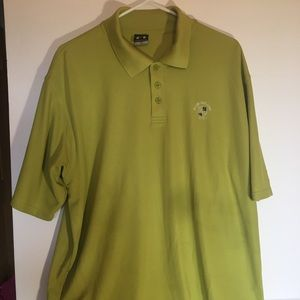 Under Armour large polo green